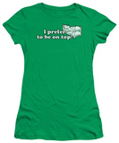 Women's: To Be on Top (Slim Fit) T-shirts