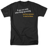 Someone to Blame T-shirts