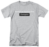 Spelling Bee Champpion T-Shirt