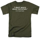 Terrorism T-shirts