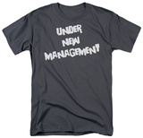 New Management T-shirts