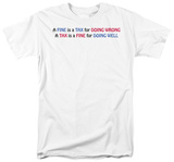 Fine Tax T-shirts