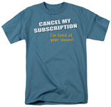 Cancel Subscription T-shirts