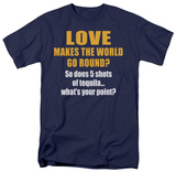 World Go Round T-shirts