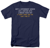 Government Worker Shirts