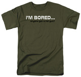 I'm Bored T-shirts