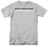 Man With Glasses Shirt