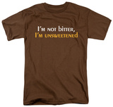 Unsweetened T-shirts
