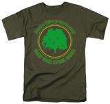 Make Like a Tree T-shirts
