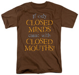 Closed Minds T-shirts