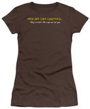 Juniors: Men Like Laxitives T-shirts