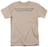 Mind Go Blank T-Shirt
