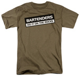 Bartenders Do It On The Rocks T-shirts