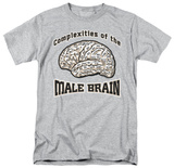 Male Brain T-shirts