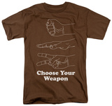 Choose Your Weapon Shirts
