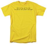 Deer Crossing T-shirts