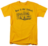 Bus it Old School Shirts