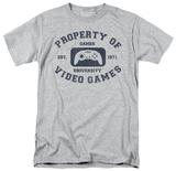 Gamer University Tshirts