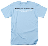 Ship Floats T-shirts