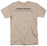 Cooking Lesseon 1 T-shirts