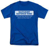 Daylight Savings Time T-shirts