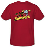 Sister Ate My Homework Shirts