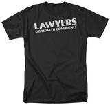 Lawyers Do It Confidentially T-shirts