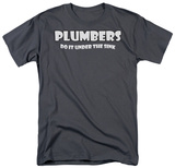 Plumbers Do It T-shirts