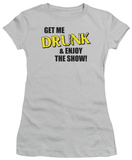 Women&#39;s: Get Me Drunk (Slim Fit) T-Shirt