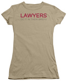 Juniors: Lawyers Do It In Their Briefs Shirts