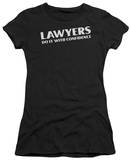 Juniors: Lawyers Do It Confidentially T-shirts