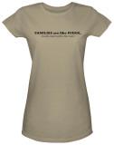 Juniors: Famllies Like Fudge T-shirts