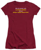 Juniors: Closed Minds T-Shirt