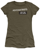 Women's: Psychiatrists Do It (Slim Fit) Shirts