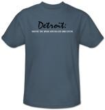 Detroit T-shirts
