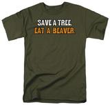 Eat a Beaver T-shirts