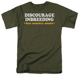 Discourage Inbreeding T-shirts