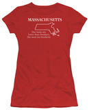 Juniors: Massachusetts Shirts
