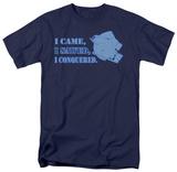 I Came, I Sawed T-shirts