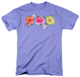 Hibiscus Trio T-shirts