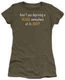 Juniors: Village Idiot T-Shirt