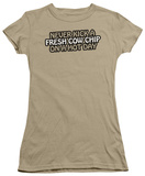 Juniors: Fresh Cow Chip T-Shirt