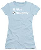 Juniors: Nice Naughty T-shirts