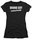 Women's: Drunk Guy (Slim Fit) Shirts