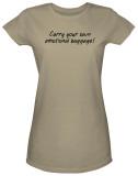 Juniors: Emotional Baggage T-shirts