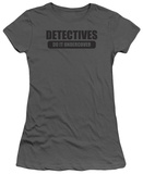 Juniors: Detectives Do It T-shirts