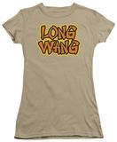 Juniors: Long Wang T-shirts