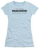 Juniors: Awesome At Humble T-Shirt