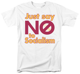 Just Say No T-shirts