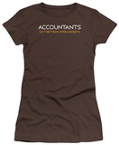 Juniors: Accounts Do It Between Spreadsheets T-Shirt